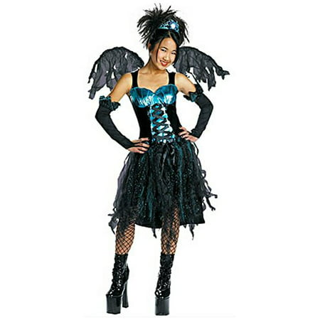 Disguise Costumes Aqua Fairy Gothic Costume Size: XL (14-16) Teen Black