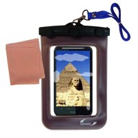 Gomadic Clean and Dry Waterproof Protective Case Suitablefor the HTC Pyramid to use Underwater
