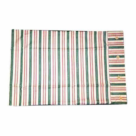 Cotton Stripes Pillow Sham (Waverly Cotton Pillow Sham Multicolored Striped   Renovator's)