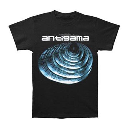 Antigama Men's  Resonance T-shirt Black