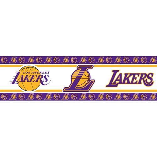 NBA Los Angeles Lakers Wall Border