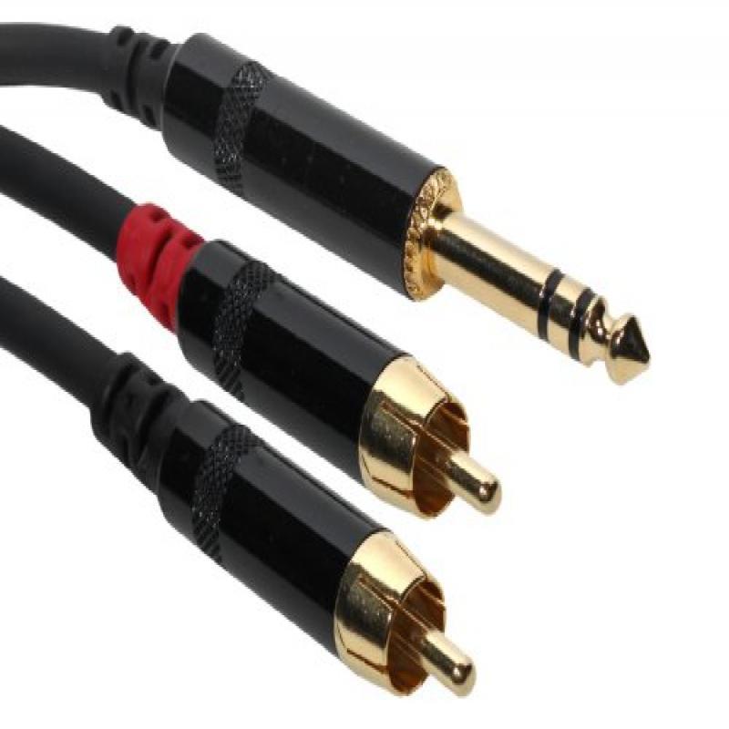 RadioShack 24-Foot RCA Stereo Audio Video Cable