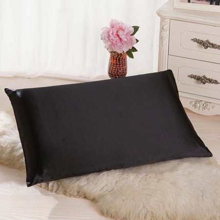 Silk Embroidery Pillow Cushion Cover (Rectangle Cushion Cover Silk Throw Pillow Case Pillowcase)