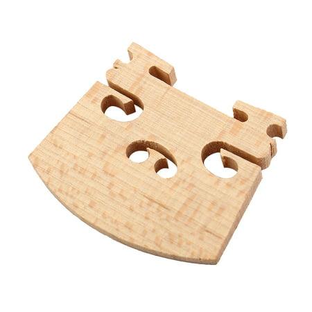Wood Toy Parts - Unique Bargains Music Instrument Acoustic Fiddle Part Wooden 1/4 Violin Bridge