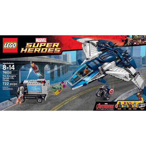LEGO Super Heroes The Avengers Quinjet City Chase
