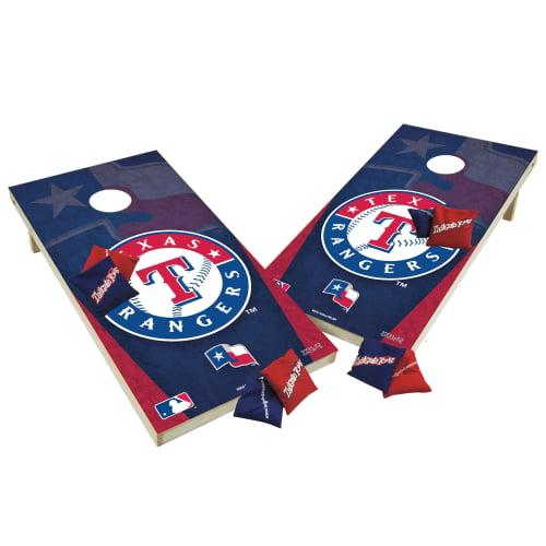 TTXL Shield Design 1MLB Texas Rangers Bean Bag Toss Game