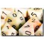 Chessex Dice: Polyhedral 7-Die Festive Dice Set - Circus w/black