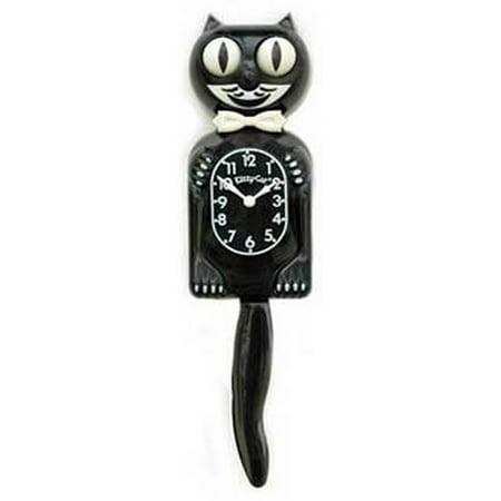 Kit Cat Clock 3 4 Black Walmart Com