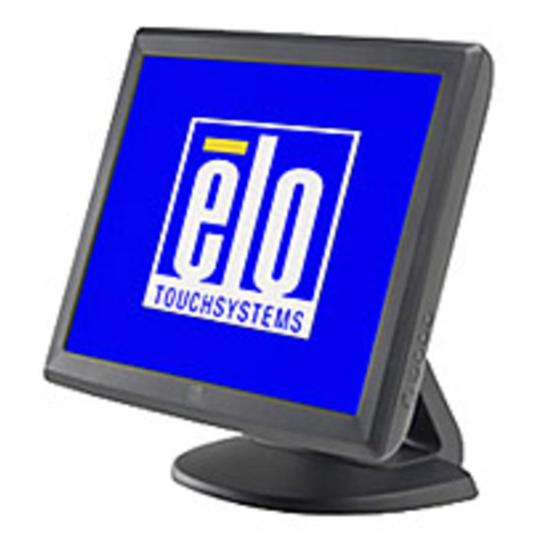 Refurbished Elo TouchSystems E700813 1515L 15-inch Touch Screen LCD Monitor - 450:1 - 230 cd/m2 - Serial,USB - VGA - Gray