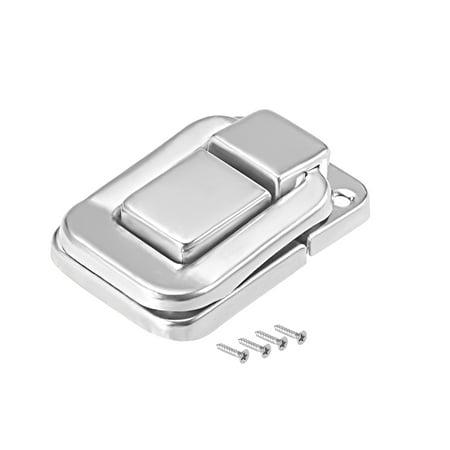 Toggle Latch, 38mm Silver Tone Decorative Hasp Jewelry Suitcase Box Catch 10 pcs - image 6 of 6