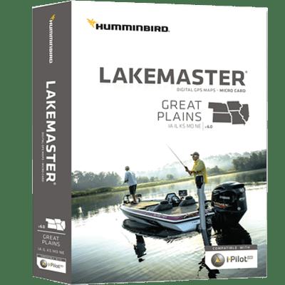 Humminbird 600017-5 Lakemaster Maps, Great Plains