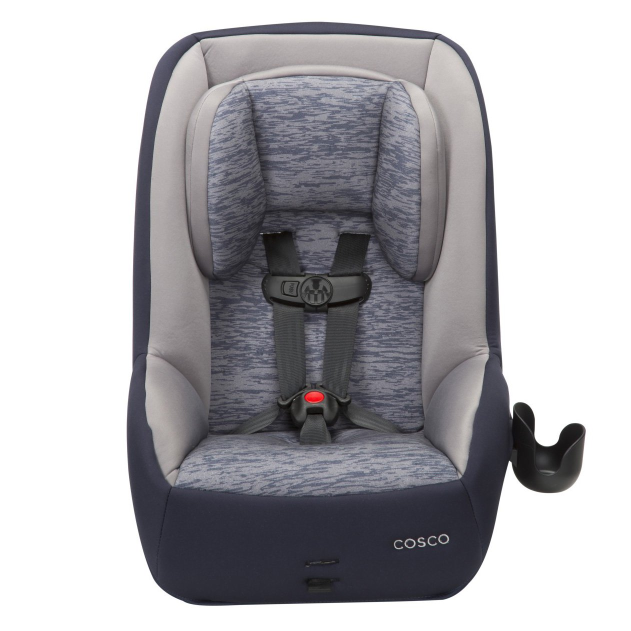 Cosco Mighty Fit 65 DX 65 lbs. Max Convertible Car Seat, Heather Navy CC173EEF