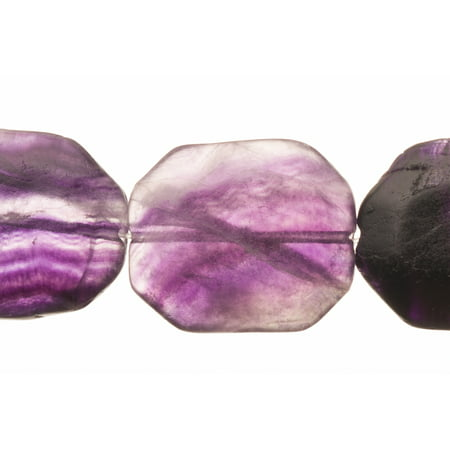 Faceted Rustic Amethyst Emerald Cutted Beads Semi Precious Gemstones Size: 31x25mm Crystal Energy Stone Healing Power for Jewelry Making Amethyst Semi Precious Bead