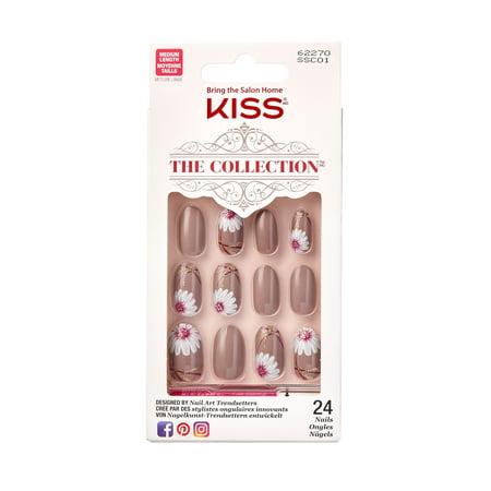 KISS The Collection Medium Length Nails, Imagination](Christmas Press On Nails)