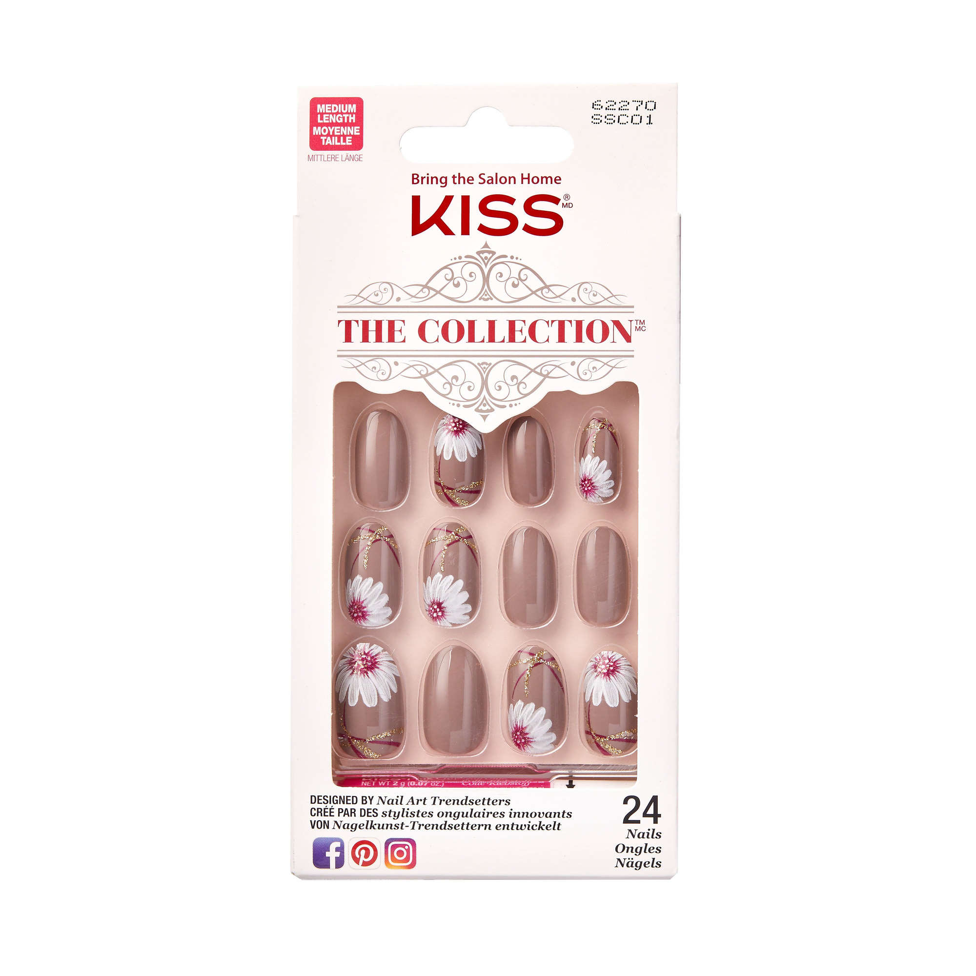 KISS The Collection Medium Length Nails, Imagination