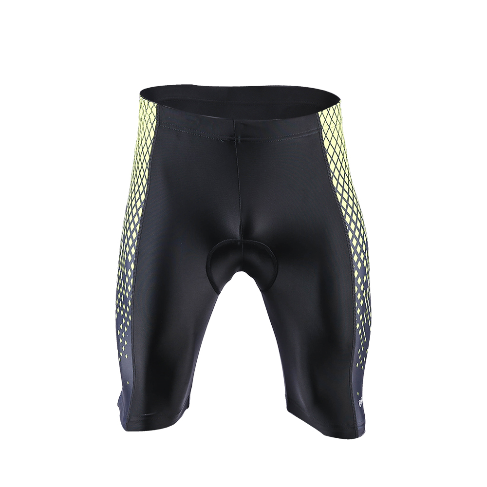 Men Cycling Shorts Padded Road Bike Half Pants Stretchy Bicycle Underwear Tights