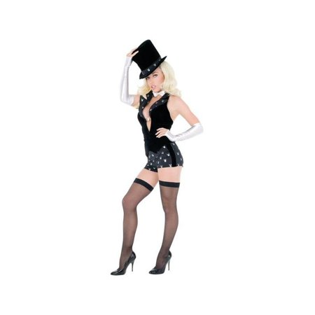 Adult Sexy Playboy Magician Costume