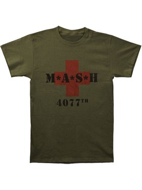 b229a684 Product Image M*A*S*H Men's MASH 4077th Slim Fit T-shirt Army
