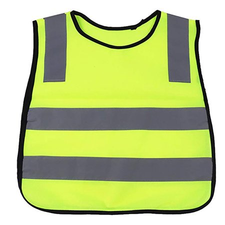 Children's Reflective Vest Safety Reflective Tops Night Sports Vest - image 2 de 8