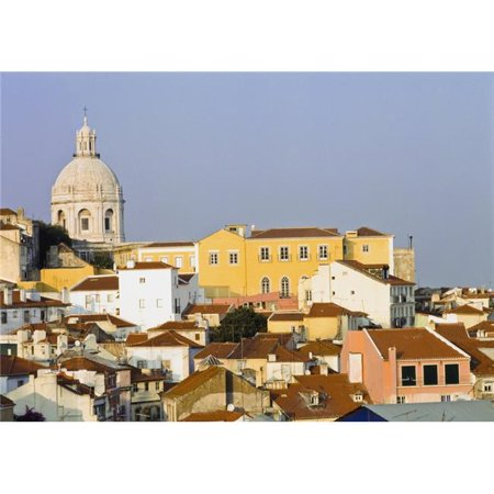 Posterazzi DPI1890668LARGE View of Town of Alfama Poster Print, 36 x 26 - Large - image 1 of 1