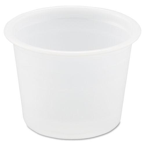 Solo Cups 1 Oz Souffl  Portion Cup in Translucent