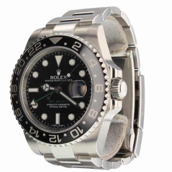 3dd7cd137fa Rolex - Rolex Gmt Master Ii 116710 Steel Watch (Certified Pre-Owned ...
