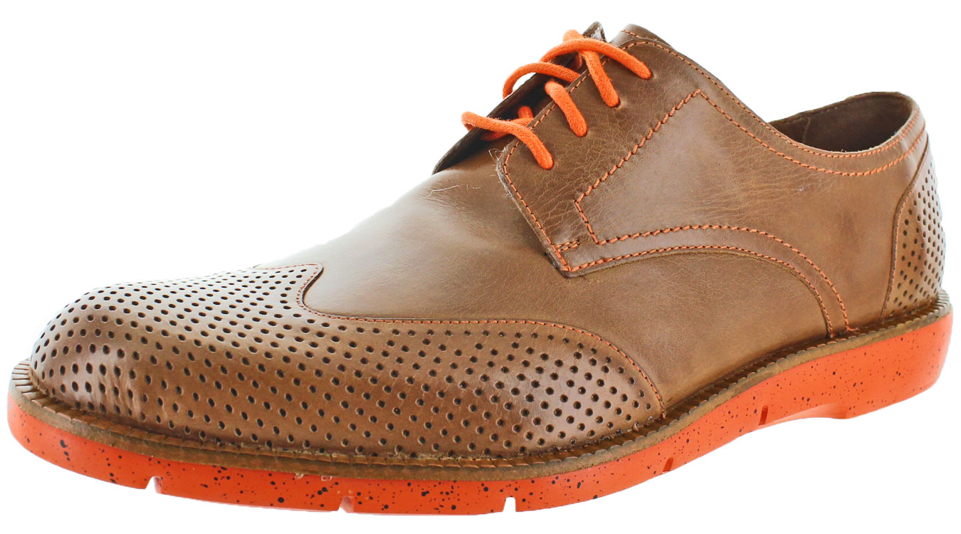 Donald J Pliner Edd-61 Men's Perforated Wingtip Oxford Dress Shoes by
