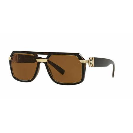 Versace 4399 Sunglasses 108/73 Havana