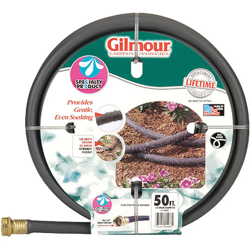 "Gilmour 27-58050 5/8"" X 50' Water Weeper/Soft Soaking Water Hose"