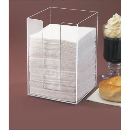 Classic Napkin Holder Color: Clear, Clear Acrylic By Cal Mil