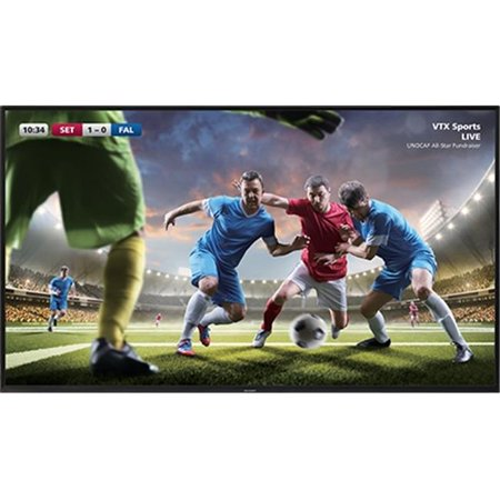 Sharp 4T-B80CJ1U 80 in. 4K 3840 x 2160 LCD with Tuner 2 HDMI RS232 USB Media Player
