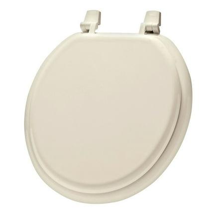 Mayfair Round Toilet Seat Basic, Economy, Molded Bone