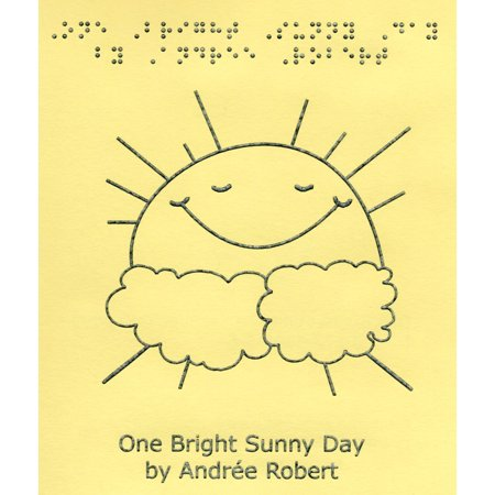 One Bright Sunny Day - Short Story Book, 6 activity pages to color and read  By MaxiAids