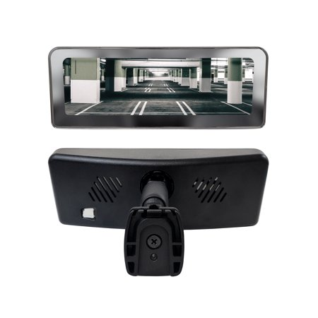 Master Tailgaters Frameless Rear View Mirror with 7