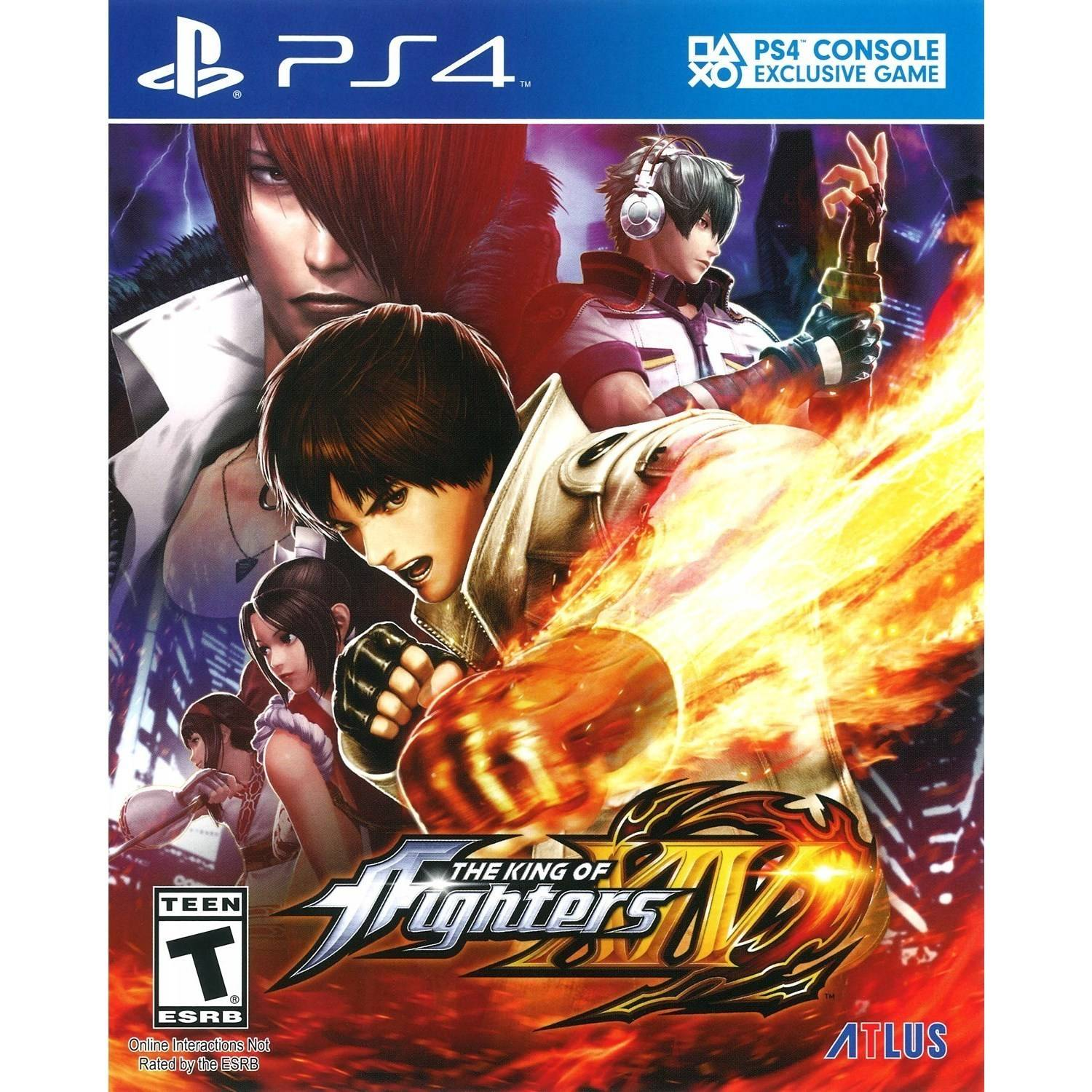 The King of Fighters XIV (PS4) - Walmart.com