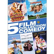 5 Film Collection: Warner Bros. Comedy - Blazing Saddles / Caddyshack / National Lampoon's Vacation / Grumpy Old Men / Ace Ventura: Pet Detective