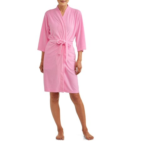 Terry Cloth Womens Robe (Lissome Women's and Women's Plus Terry Wrap)
