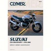 Clymer M353 Manual for Suzuki GSF1200 Bandit 96-03