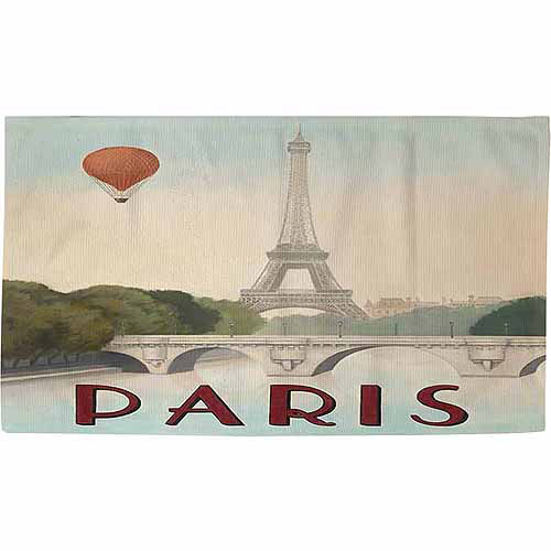 "IDG City Skyline Paris Rug, 22.5"" x 37"""