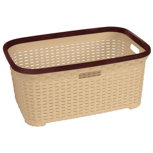 superior performance superio brand wicker bushel laundry basket