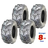 Set 4 Premium WANDA 8PR ATV UTV Tires 25x10-12 25x10x12