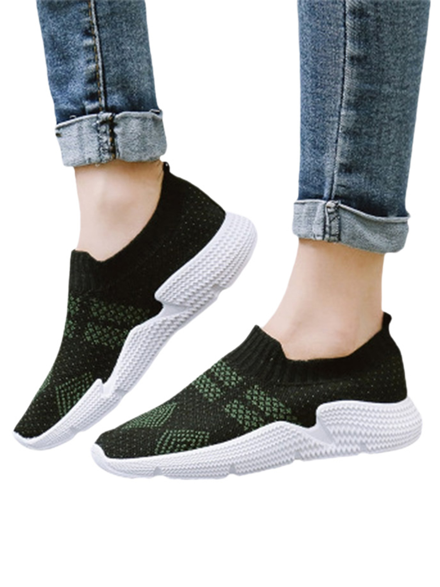 Details about  /Women/'s Athletic Walking Running Casual Shoes Comfy Tennis Sport Sneakers