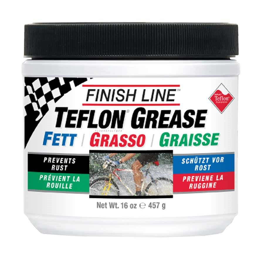 Finish Line Premium Teflon Fortified Grease, 1 Lb Tub