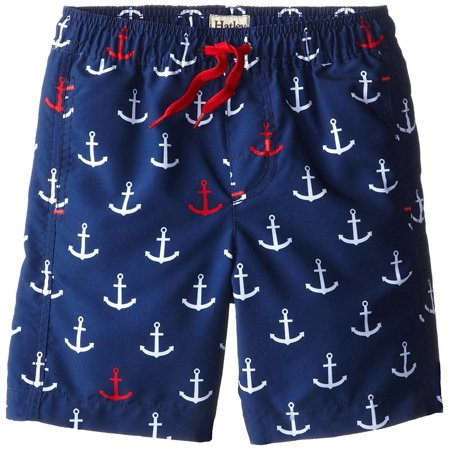 a5c924199a27b Hatley - Hatley Little Boys' Anchor Swim Trunks - Walmart.com