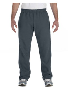 Gildan Adult Heavy Blend Adult 8 oz., 50/50 Open-Bottom Sweatpants