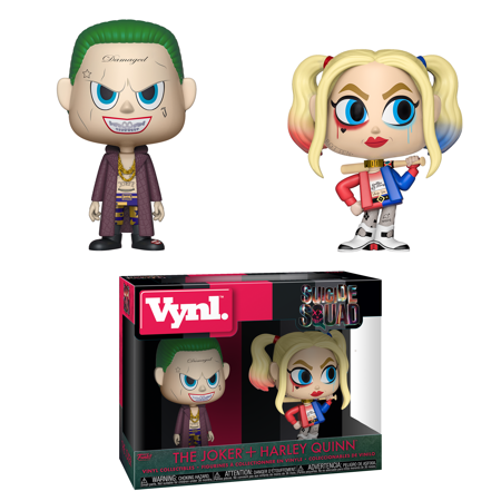Funko VYNL: Suicide Squad - 2PK - The Joker & Harley Quinn (The Joker With Harley Quinn)