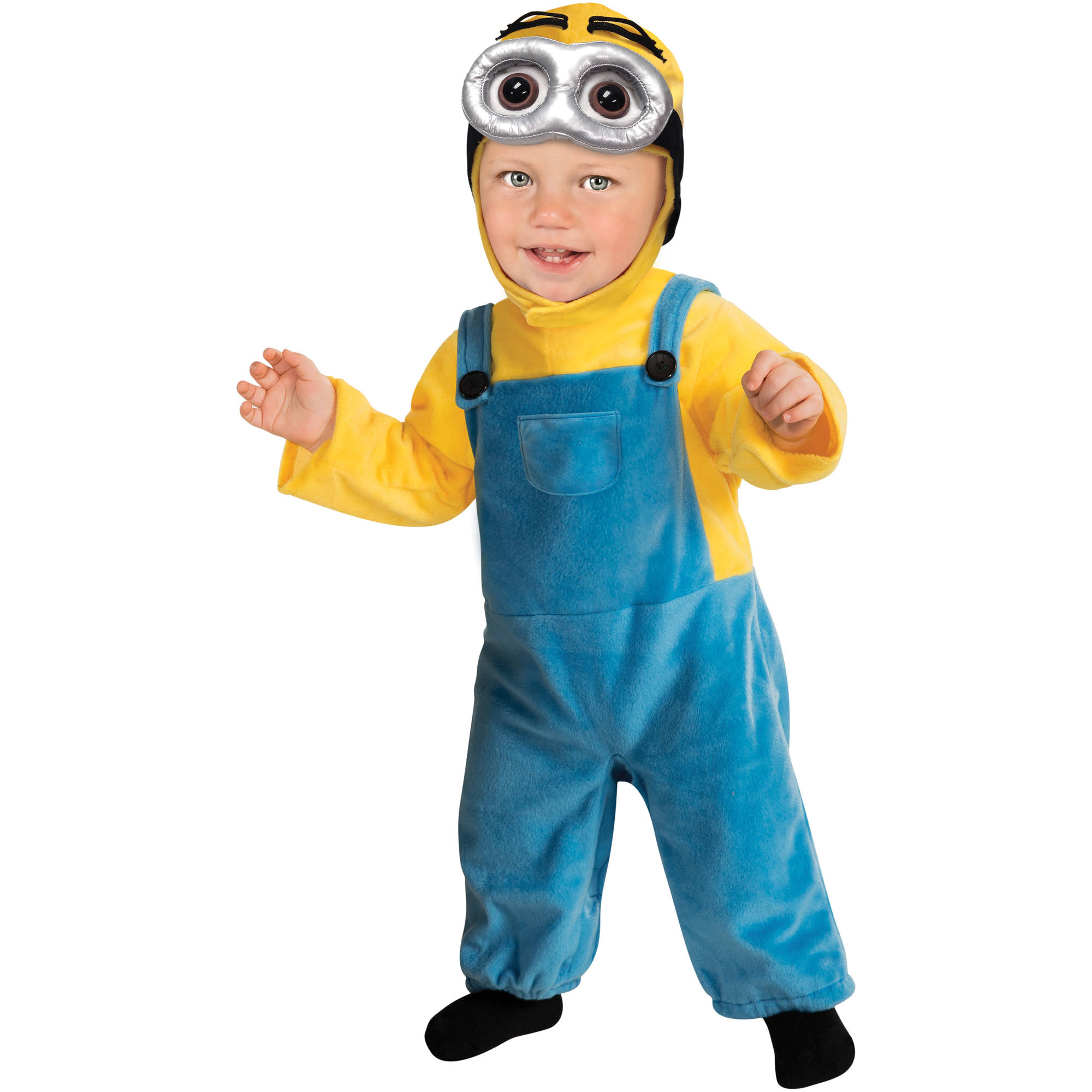 Minion Toddler Jumpsuit Halloween Costume  sc 1 st  Walmart & Minion Toddler Jumpsuit Halloween Costume - Walmart.com