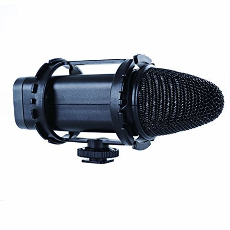 Movo X/Y Stereo Condenser Video Microphone for Canon EOS 1D-X MK I&II, 5D MK I, II, III, 5DS R, 6D, 7D MK I+II, 60D, 70D, Digital Rebel T6S, T6i, T5i, T4i, T3i, T2i DSLR