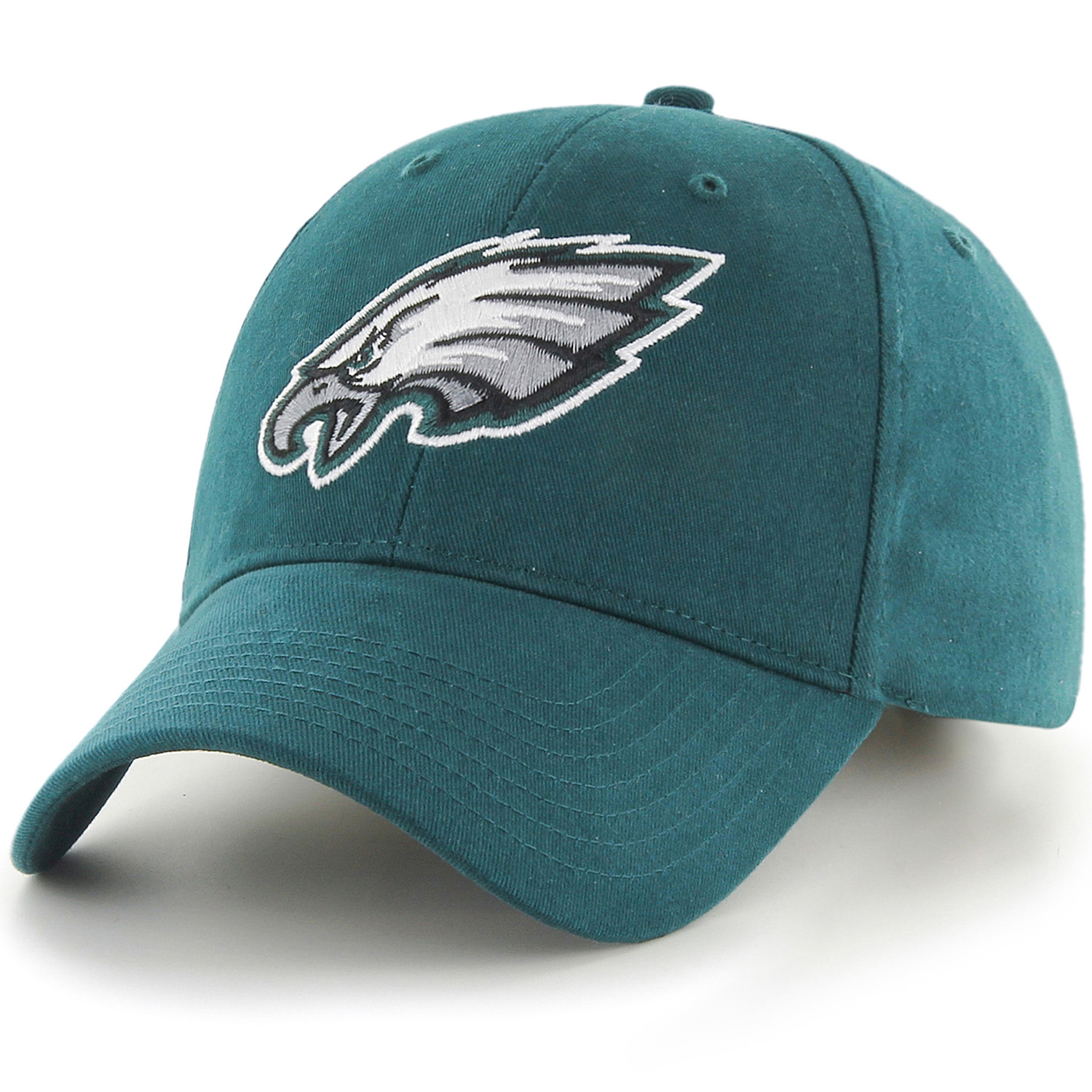 Men's Fan Favorite Green Philadelphia Eagles Mass Basic Adjustable Hat - OSFA