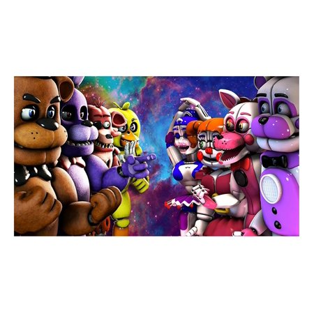 Five Nights At Freddys FNAF 1 4 Size Cake Topper Edible Image Photo Frosting Icing Sheet Birthday Party
